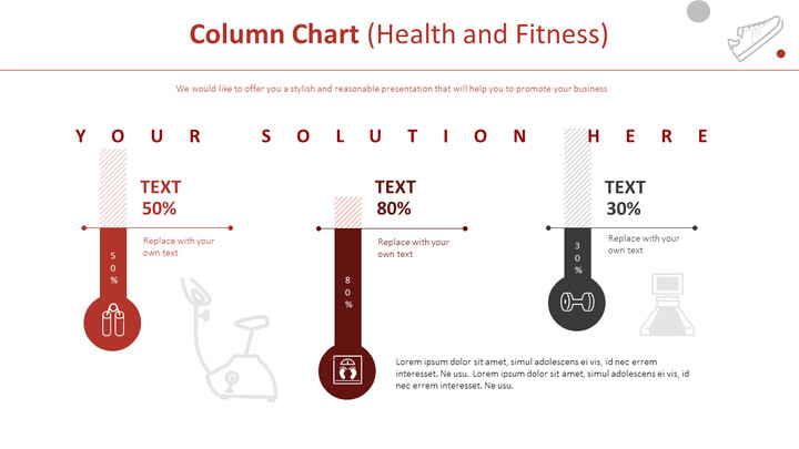 Column Chart (Health and Fitness)_01