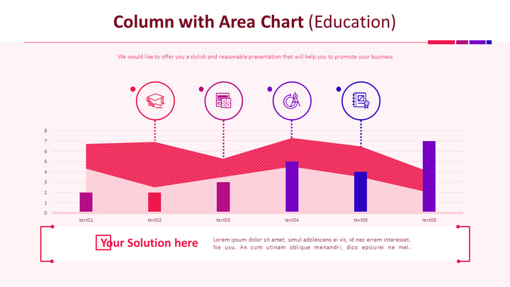 Column with Area Chart (Education)_01
