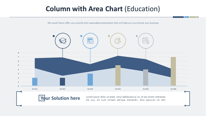 Column with Area Chart (Education)_02