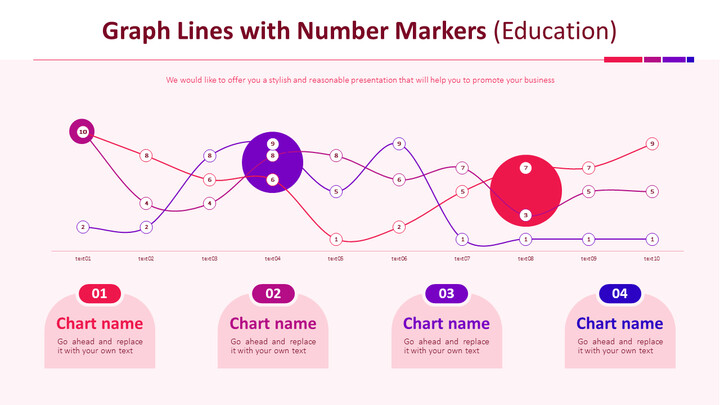 Graph Lines with Number Markers Chart (Education)_01