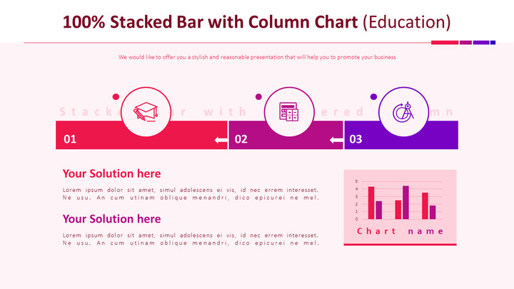 Single Stacked Bar with Column Chart (Education)_01
