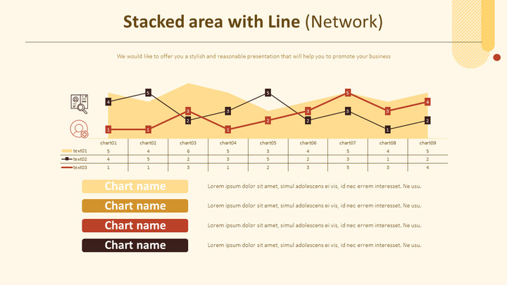 Stacked area with Line Chart (Network)_01