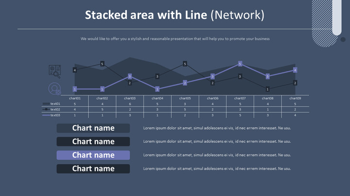 Stacked area with Line Chart (Network)_02
