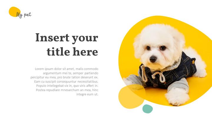 애완 동물 프레젠테이션용 PowerPoint 템플릿_02