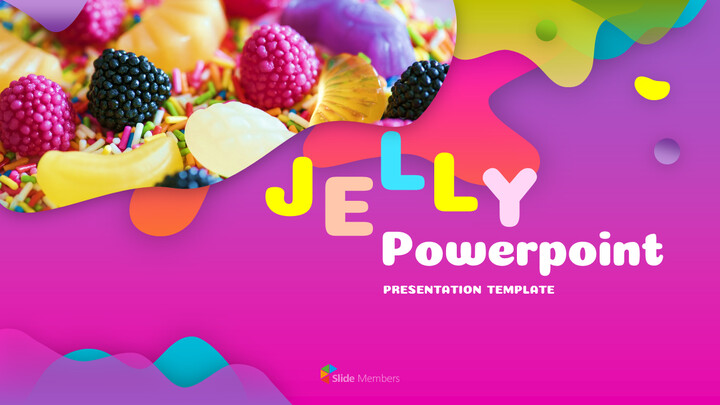 Jelly PowerPoint Templates for Presentation_01