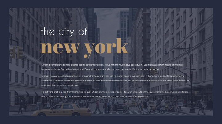 New York City PowerPoint Templates for Presentation_02