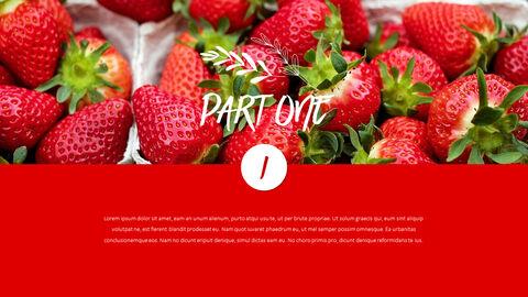 레드 과일과 야채 테마 PPT 템플릿_04