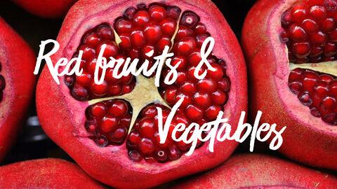 레드 과일과 야채 테마 PPT 템플릿_06