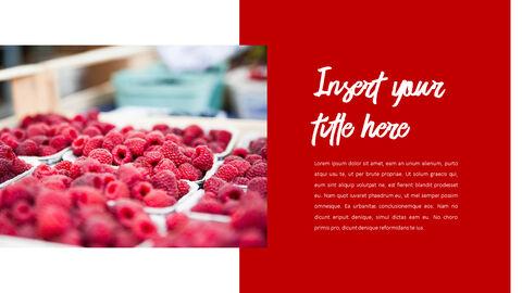 레드 과일과 야채 테마 PPT 템플릿_16