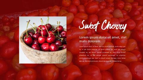 레드 과일과 야채 테마 PPT 템플릿_18