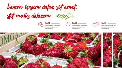 레드 과일과 야채 테마 PPT 템플릿_19