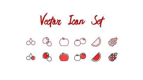 레드 과일과 야채 테마 PPT 템플릿_61