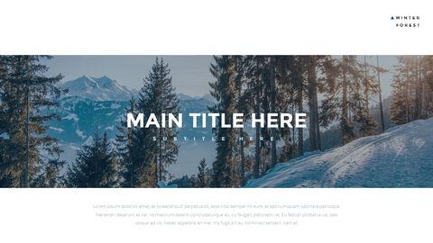 겨울 숲 간단한 디자인 템플릿_02