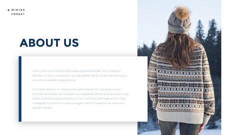 겨울 숲 간단한 디자인 템플릿_04