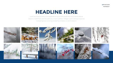겨울 숲 간단한 디자인 템플릿_05