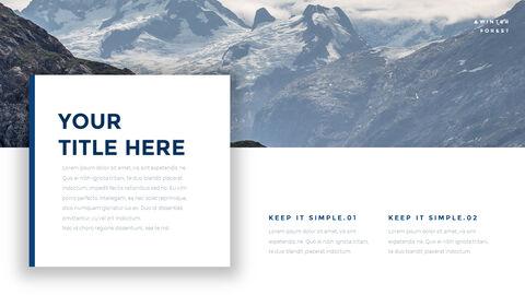 겨울 숲 간단한 디자인 템플릿_17