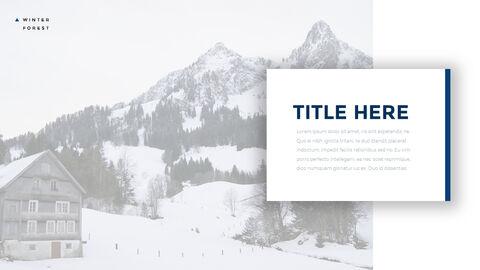 겨울 숲 간단한 디자인 템플릿_20
