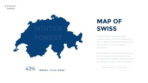겨울 숲 간단한 디자인 템플릿_38