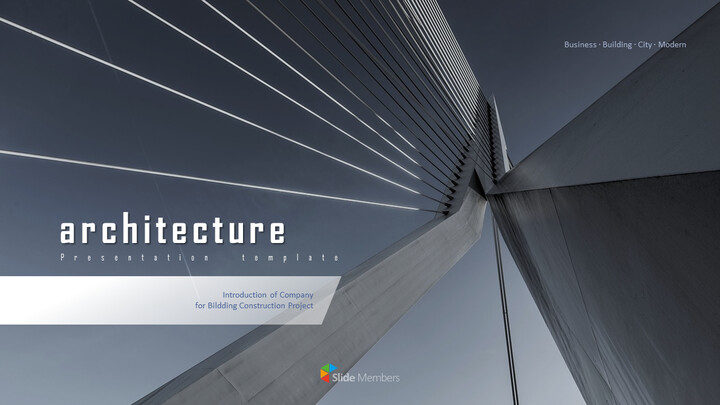 Architecture Business Theme PPT Templates_01