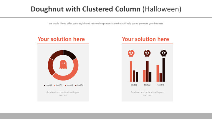 Doughnut with Clustered Column (Halloween)_02