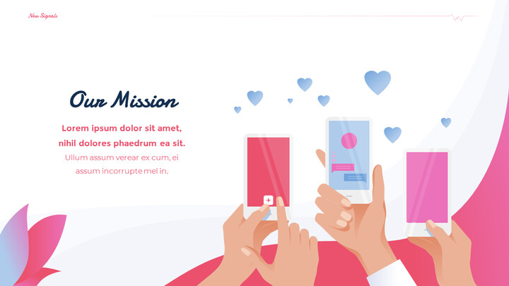Love Match Application Theme PPT Templates_02