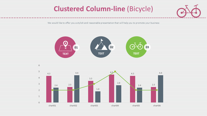 Clustered Column-line (Bicycle)_02