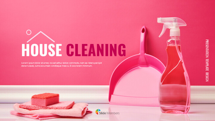 House Cleaning Easy Google Slides Template_01