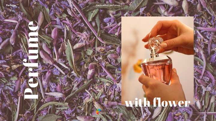 Perfume with Flower PowerPoint Templates_01