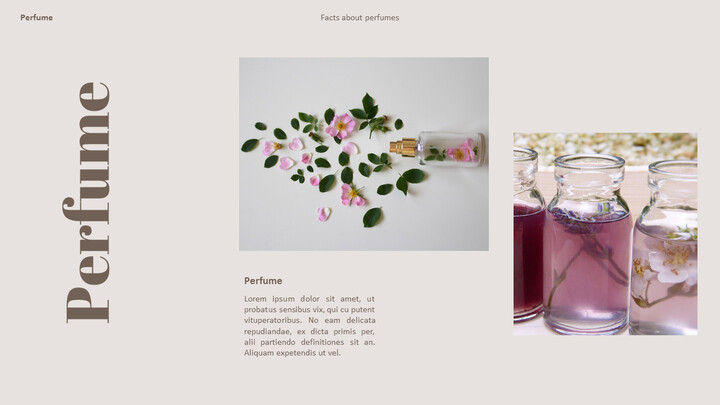 Perfume with Flower PowerPoint Templates_02