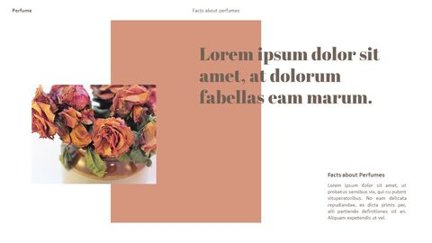 Perfume with Flower PowerPoint Templates_05