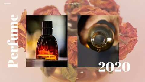Perfume with Flower PowerPoint Templates_08