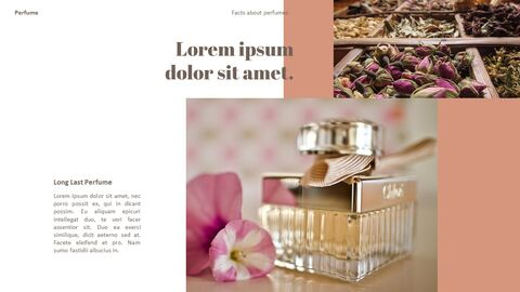 Perfume with Flower PowerPoint Templates_13