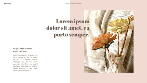 Perfume with Flower PowerPoint Templates_16