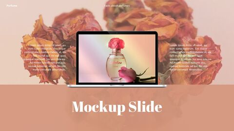 Perfume with Flower PowerPoint Templates_39