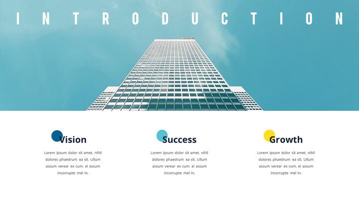PowerPointのビジネスピッチデッキのアニメーションスライド_02