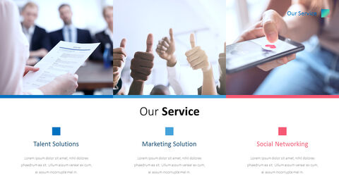 Business Social Network Pitch Deck Animated Slides_08