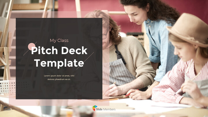Class Pitch Deck PowerPoint Presentation Animated Slides_01