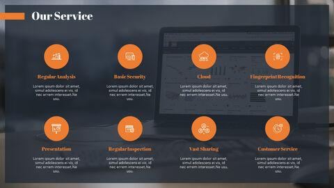PowerPoint에서 투자자 피치덱 애니메이션 슬라이드_05
