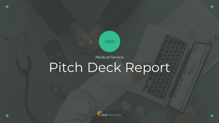 Medical Service Pitch Deck PowerPoint Presentation Animation Templates_01