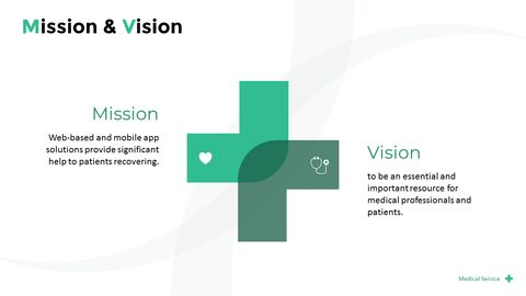 Medical Service Pitch Deck PowerPoint Presentation Animation Templates_03