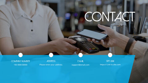 Mobile Payment System Theme animated PowerPoint Templates_11