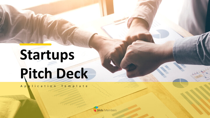 Startup Pitch Deck powerpoint animation template_01