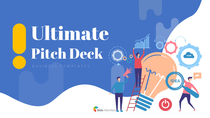 Ultimate Pitch Deck Presentation Animated Slides in PowerPoint_01