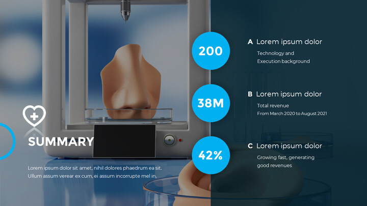 3D Bioprinting Modern animated PowerPoint Templates_02