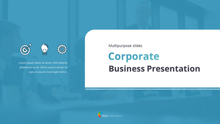 Animated Templates - Corporate Multipurpose Slides PPT Theme_01