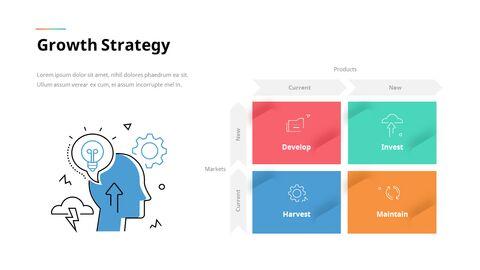 Animated Templates - Line Icon Minimal Presentation PowerPoint_10