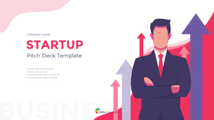 Animated Templates - Startup Visually Focused Template PowerPoint Design ideas_01