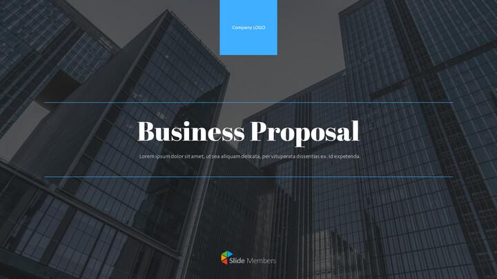 Business Proposal Pitch Deck Presentation Animation Templates_01