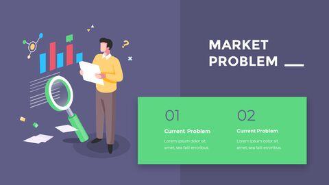 금융 비즈니스 크리에이티브 보고서 PPT 템플릿 애니메이션 디자인_02