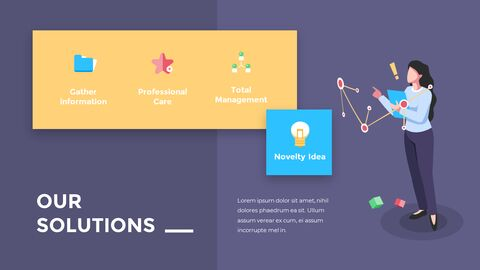 Financial Business Creative Report PPT Templates Animation Design_04